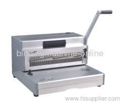 manual coil binding machine