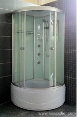 One glass shelf shower rooms
