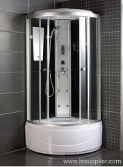 FM radio with shower cabins