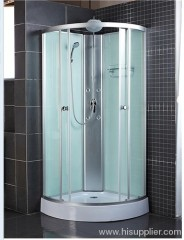 Aluminum panel shower cabins