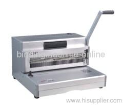 manual heavy duty coil binding machine