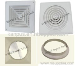 ABS Plastic Air Diffuser for air conditioner (air conditioner parts)