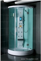 ABS and acrylic tray with shower cabins