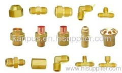 Brass fittings for refrigeration and air conditioner (refrigeration fitting A/C fitting HVAC/R fitting)