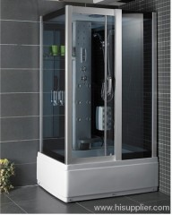 Aluminum alloy frame with shower room