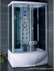 Eight back massage jets with shower room