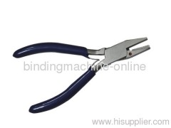 Coil crimpers pliers for coil binding
