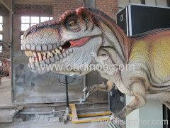 life-size t-rex dinosaur life-size robotic dinosaur