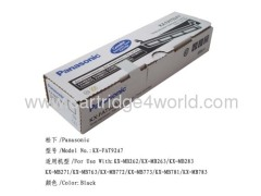 Recycling toner cartridges of Panasonic KX-FAT92A7