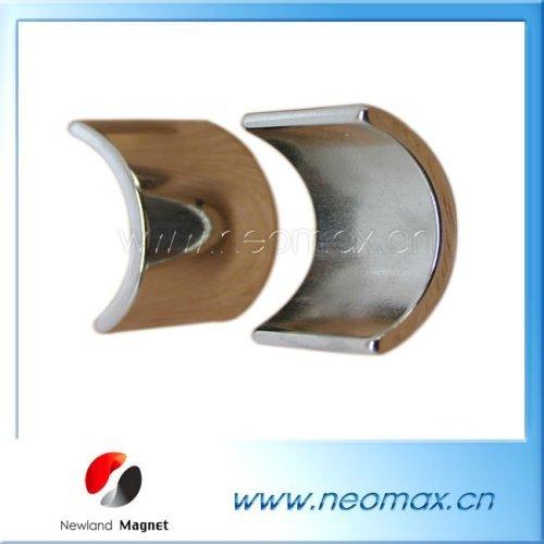 Neodymium segment magnet for motor
