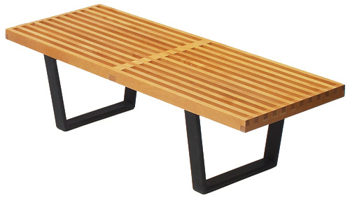George Nelson bench outdoor bench leisure bench living