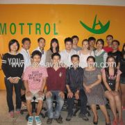 THE GROUP PHOTO OF MOTTROL TEAM