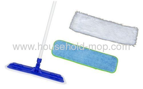 Large 2ft Flat Head Dry Floor Mop Duster Cleaner Laminate Wooden Hard Flooring