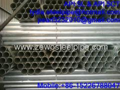 SCH80 GALVANIZED STEEL PIPE