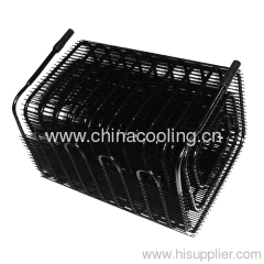 bended condenser beverage cooler