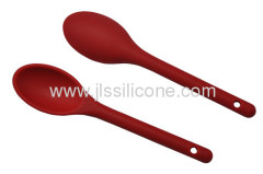 Eco friendly and dishwasher safe silicone spoons in candy color