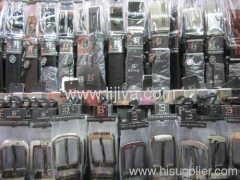 pu split leather belt