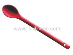 Eco friendly silicone spoons with 15 inch length in candy color