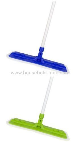 NEW Extendable Microfibre Noodle Mop Cleaner Sweeper Wooden Tiled Floor Wet Dry
