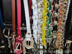 fashion leather belts for men