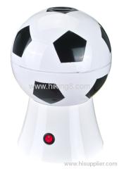 football hot air popcorn maker