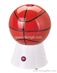 basketball hot air popcorn maker