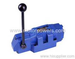 Directional spool valves with hand lever approx 17kg