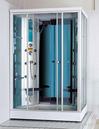 5mm clear glass with shower room