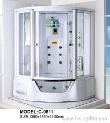Bathtub control panel shower room