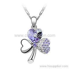 Newest sell well cubic zirconia jewellery necklace