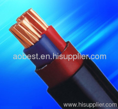 low voltage N2XY XLPE power cable