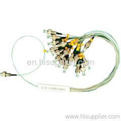 1X16 Mini FC Fiber splitter