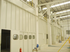 painting line for aluminum panel