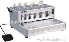 A3 paper size comb binding machine