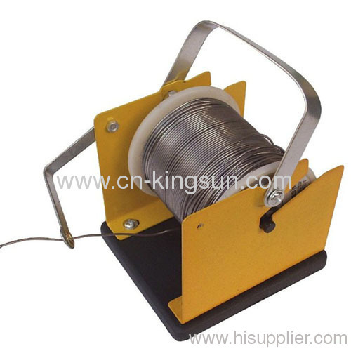 Yellow Solder Wire Stand Tin Wire Stand Holder Support