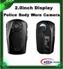 1080P Police body worn camers with 2inch tft displayh