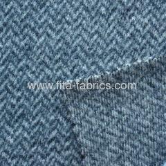 100% wool overcoating fabric