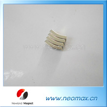 Small arc nedymium magnets wholesale