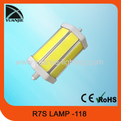 R7S-118 LED LAMP 7W COB LED