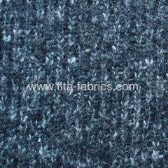 Coarsely Knitted Fabric blended of wool/acrylic/cotton