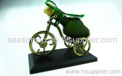 Bike with wine car perfume