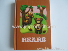 all size notebook of bears cover