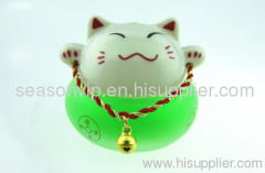 Lucky Cat car air freshener/ lovely car perfume