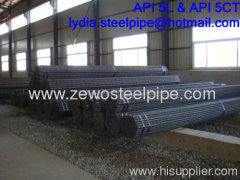 BLACK COLD DRAWN STEEL TUBE