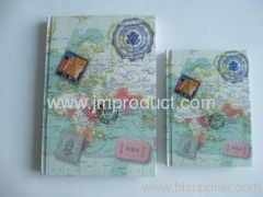 4 color printing hardcover notebook