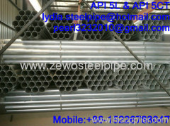 SCH40 GALVANZIED STEEL PIPE
