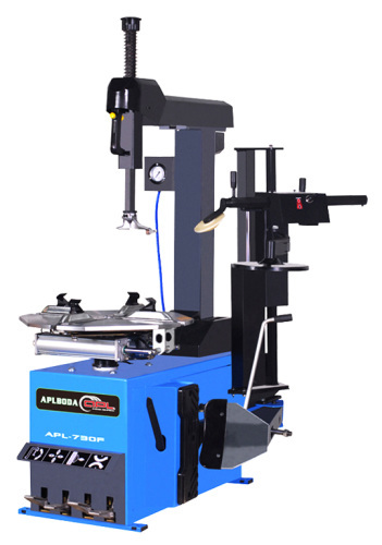 Car tyre changing equipment