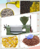 Screw oil press canola oil press sunflower oil press