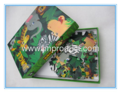 customized 48pcs 3D colorful fashion puzzle toy