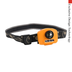 Multifunctional Head Lamp Flashlight Cree XPG LED with IR Sensor